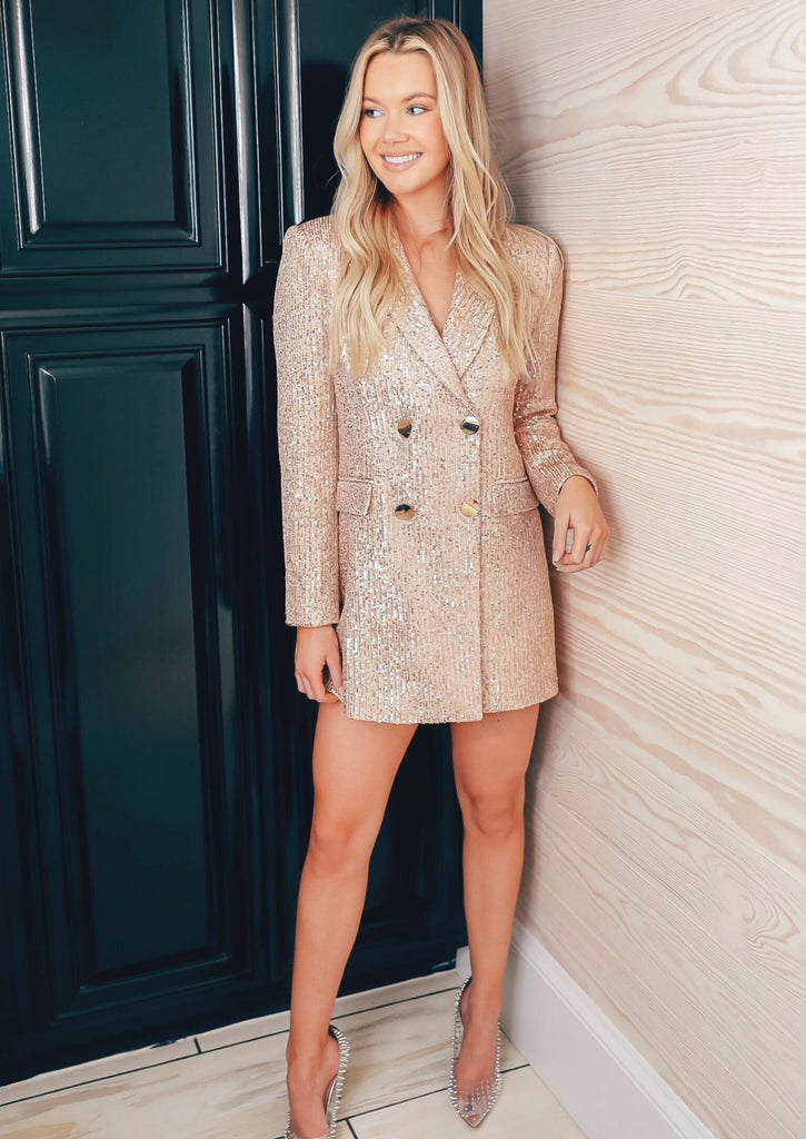 BLAKELY BLAZER DRESS