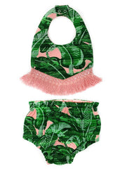 TROOP PALM SPRINGS BIB & DIAPER COVER