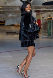 THE ONYX STARLET FUR COAT