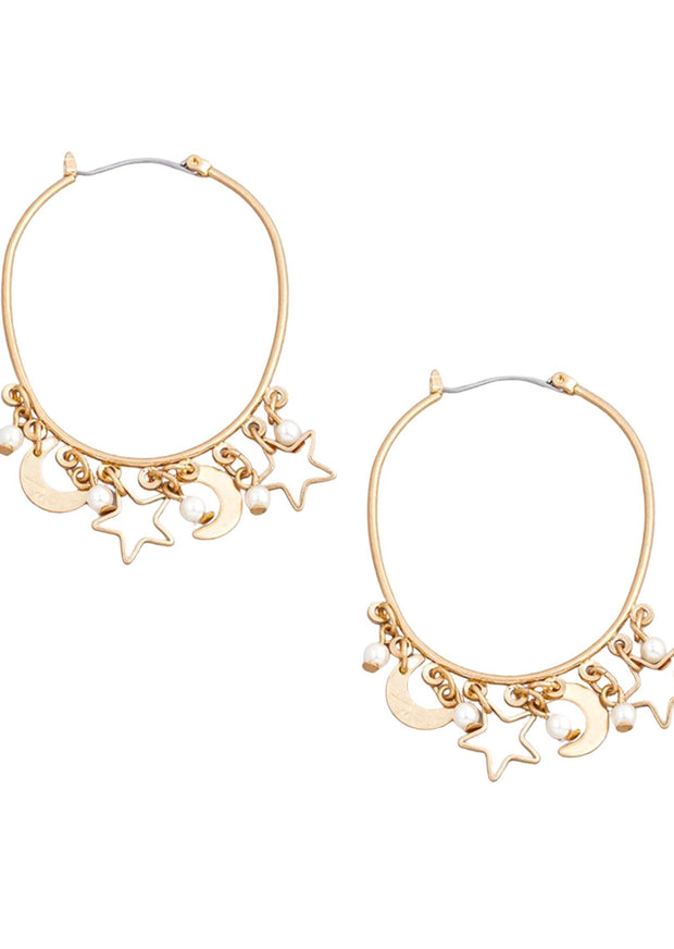SHOOTING STAR HOOPS
