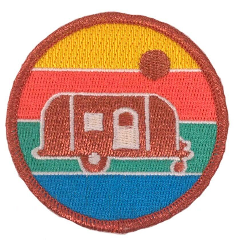 SUN-KISSED CAMPER PATCH - SKY BLUE