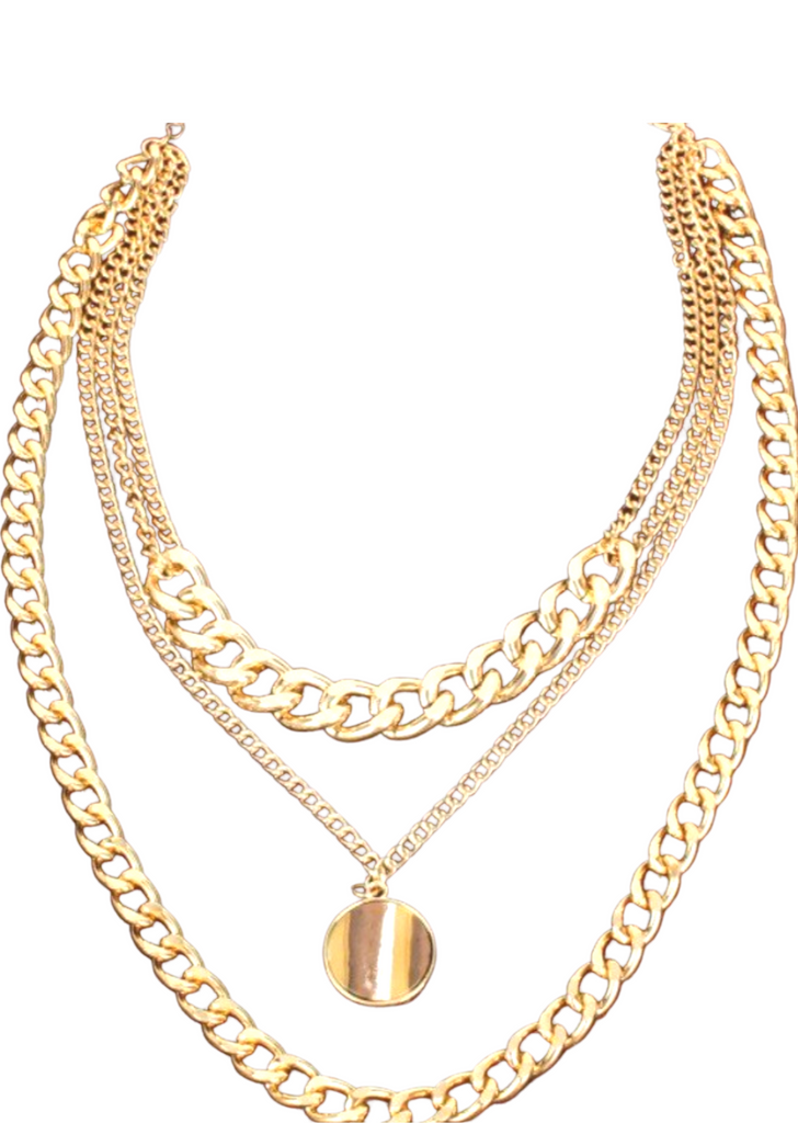 OLIVIA PENDANT CHAIN NECKLACE