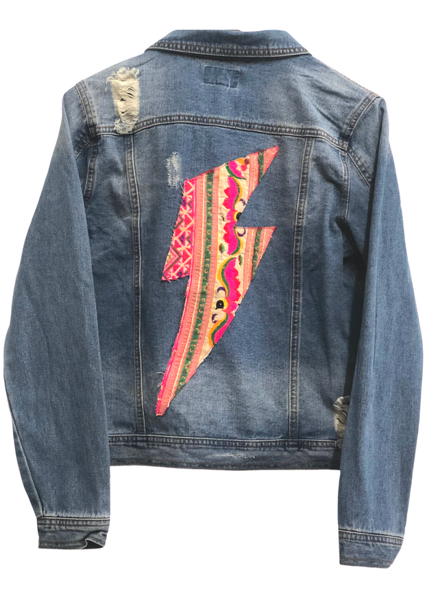 LIGHTNING BOLT DENIM JACKET