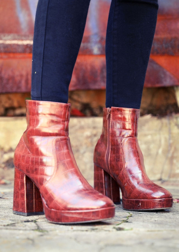 LIBBY LEATHER BOOTIES