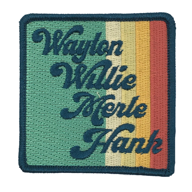 VINTAGE STRIPE COUNTRY LEGENDS PATCH