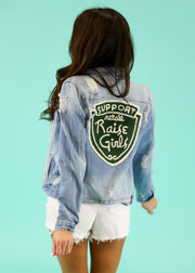 RAISE GIRLS DENIM JACKET