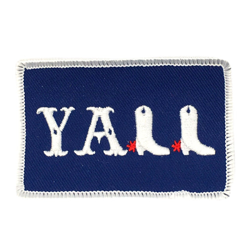 Y'ALL BOOTS PATCH - RED