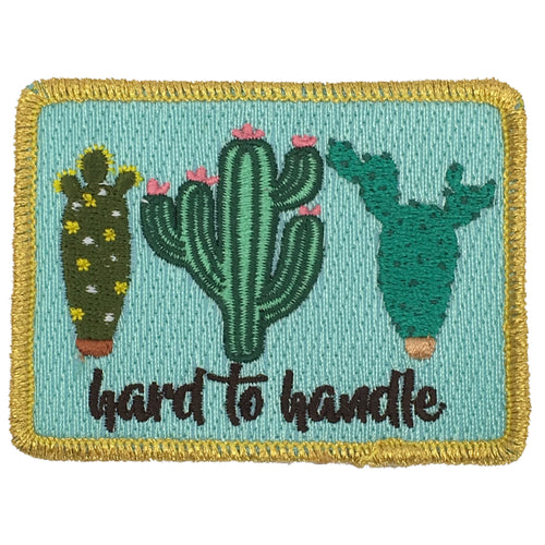 HARD TO HANDLE CACTUS PATCH - NAVY