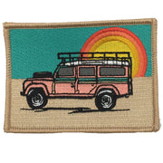 SUNSET LAND ROVER PATCH