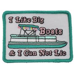 I LIKE BIG BOATS PATCH
