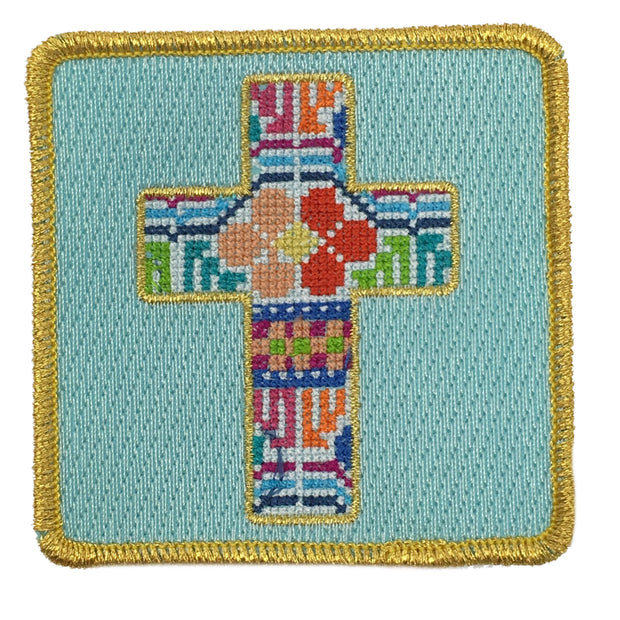 PATCHWORK CROSS PATCH