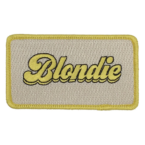 BLONDIE PATCH - BLUE