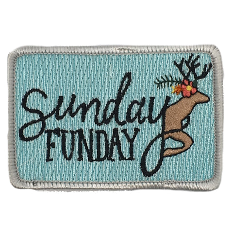 SUNDAY FUNDAY DEER PATCH