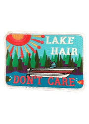 Abstract Lake Hair Don't Care Patch Coral