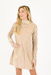 THE CHAMPAGNE STARLET DRESS