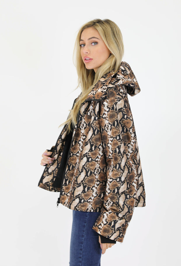 SAHARA SNAKE HOODED WIND BREAKER