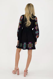 KALEIDOSCOPE SMOCKED DRESS