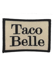 Taco Belle Patch -  Blue
