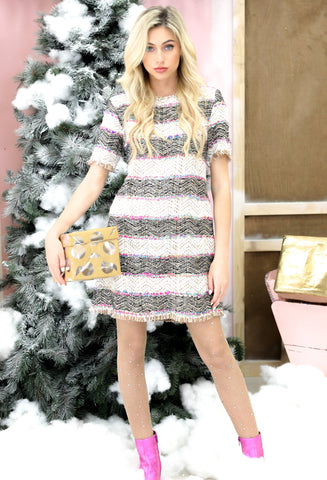 THE COCO TWEED DRESS