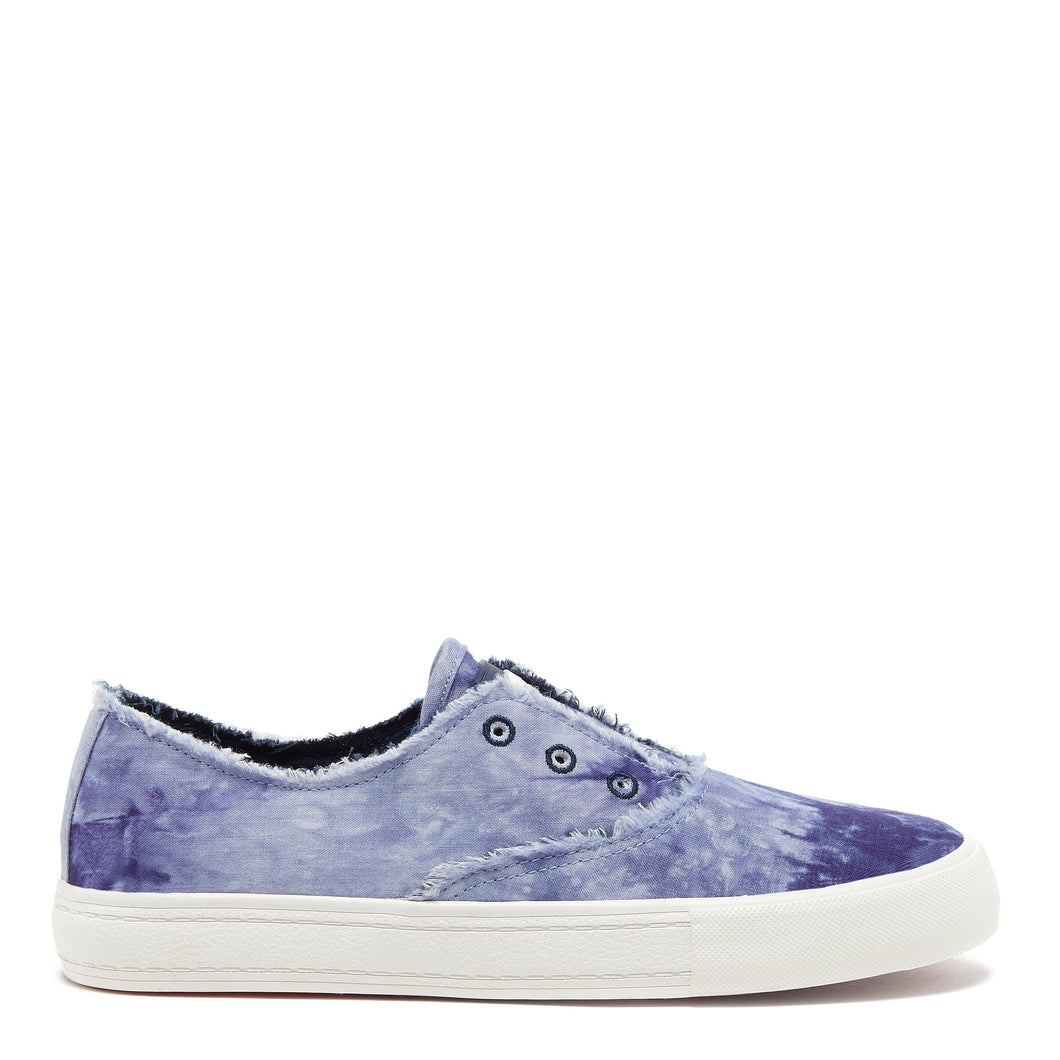 Afina Blue Tie-Dye Slip-on Trainer