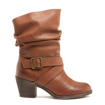 Shelly Brown Slouch Boot