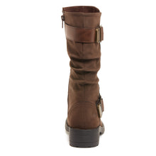 Trumble Brown Ontario Biker Boot