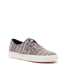 Afina Blue Multi Stripe Slip-on Trainer