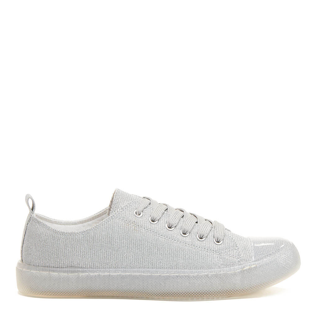 Amika Silver Trainers