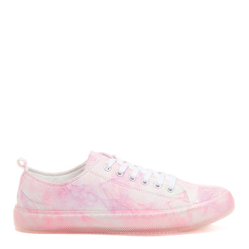 Angel Pink Tie-Dye Trainers