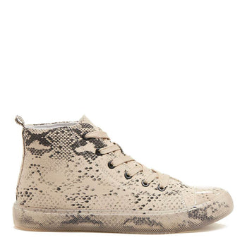 Ava Snake High Top Trainers
