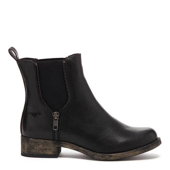 Camilla Black Bromley Chelsea Boot