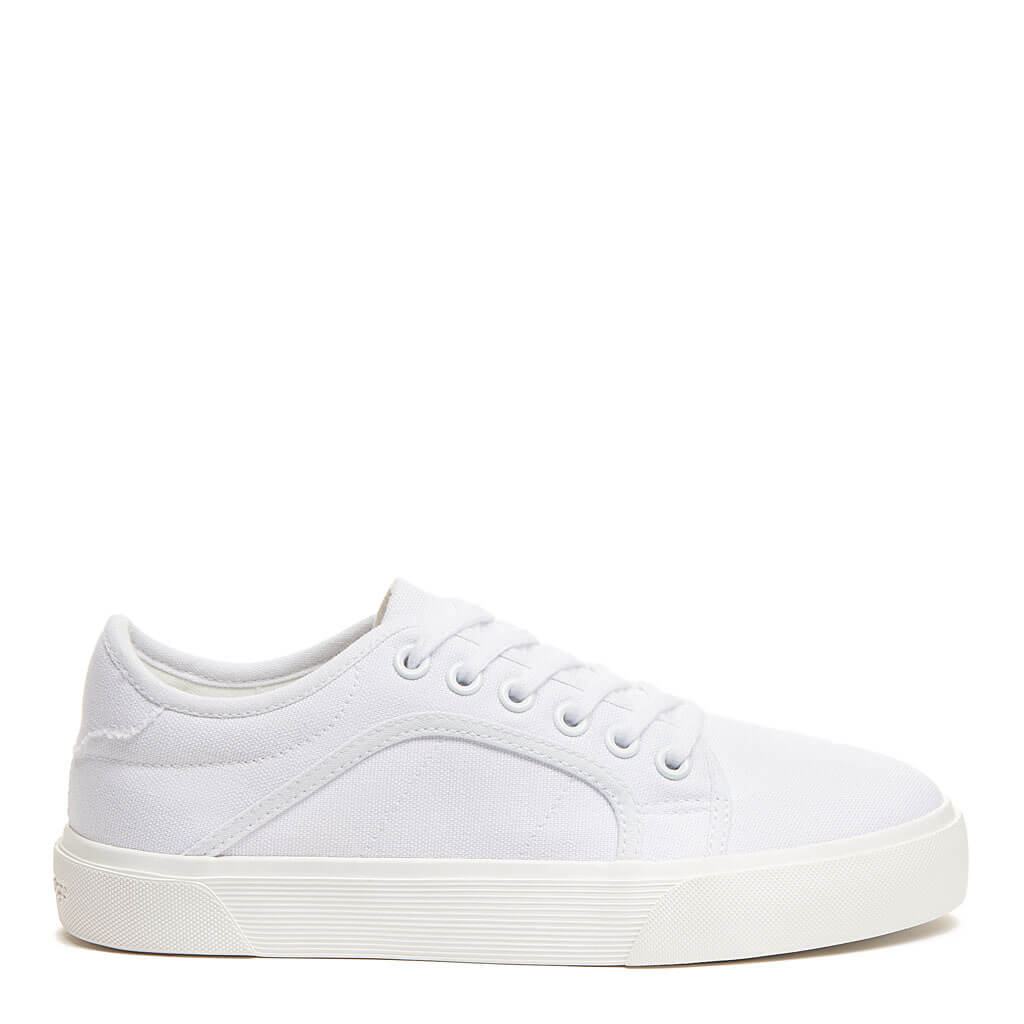 Rocket Dog Esme White Canvas Trainer