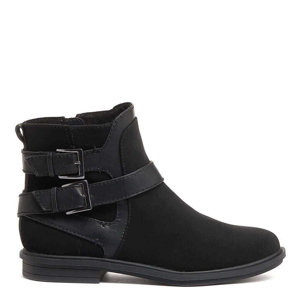 Geo Black Ankle Boot