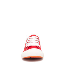 Jazzin Red Canvas Trainer