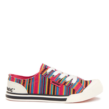 Jazzin Multi Aloe Stripe Trainer