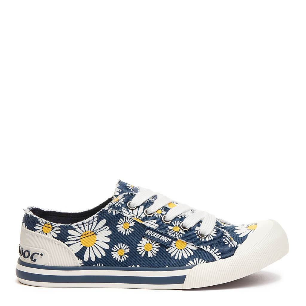 Rocket Dog® Jazzin Navy Daisy trainer