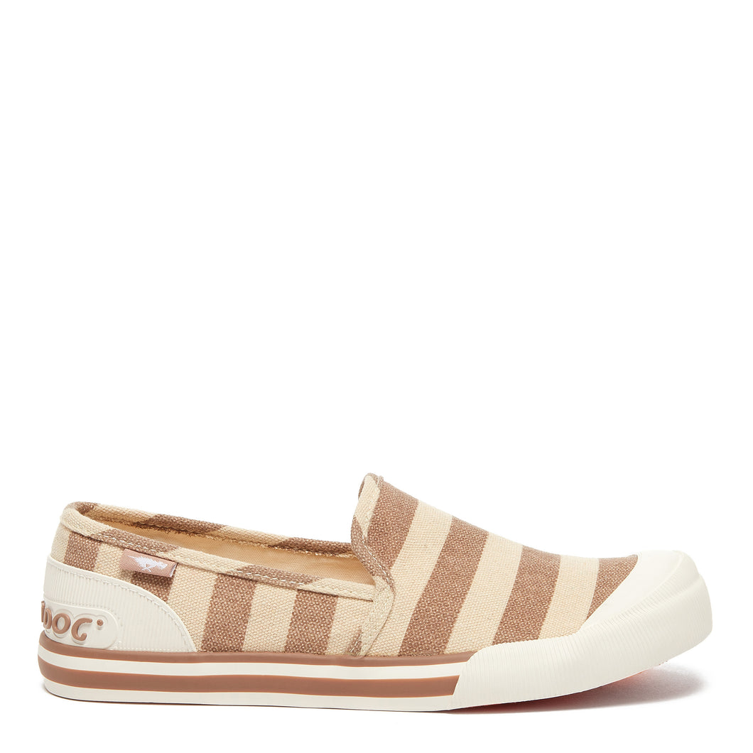 Jazzin Slip Natural Piper Cotton Trainer
