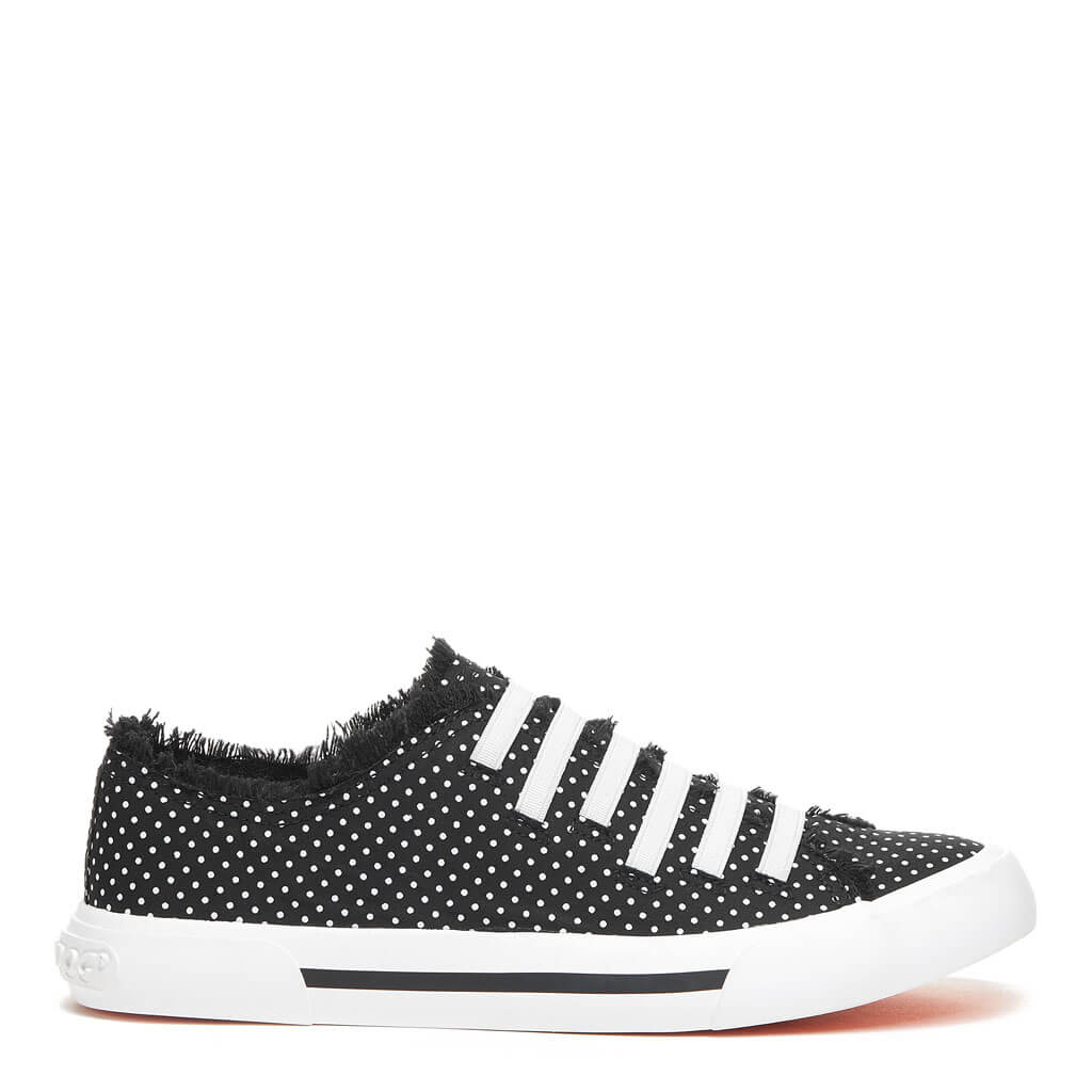 Jokes Black Polka Dot Trainer