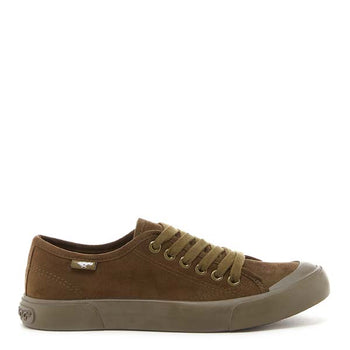 Jumpin Olive Canvas Sneaker
