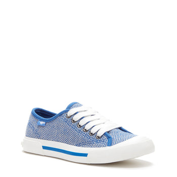 Jumpin Blue Tweed Sneaker