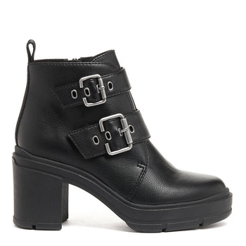 Kamari Black Chunky Boot