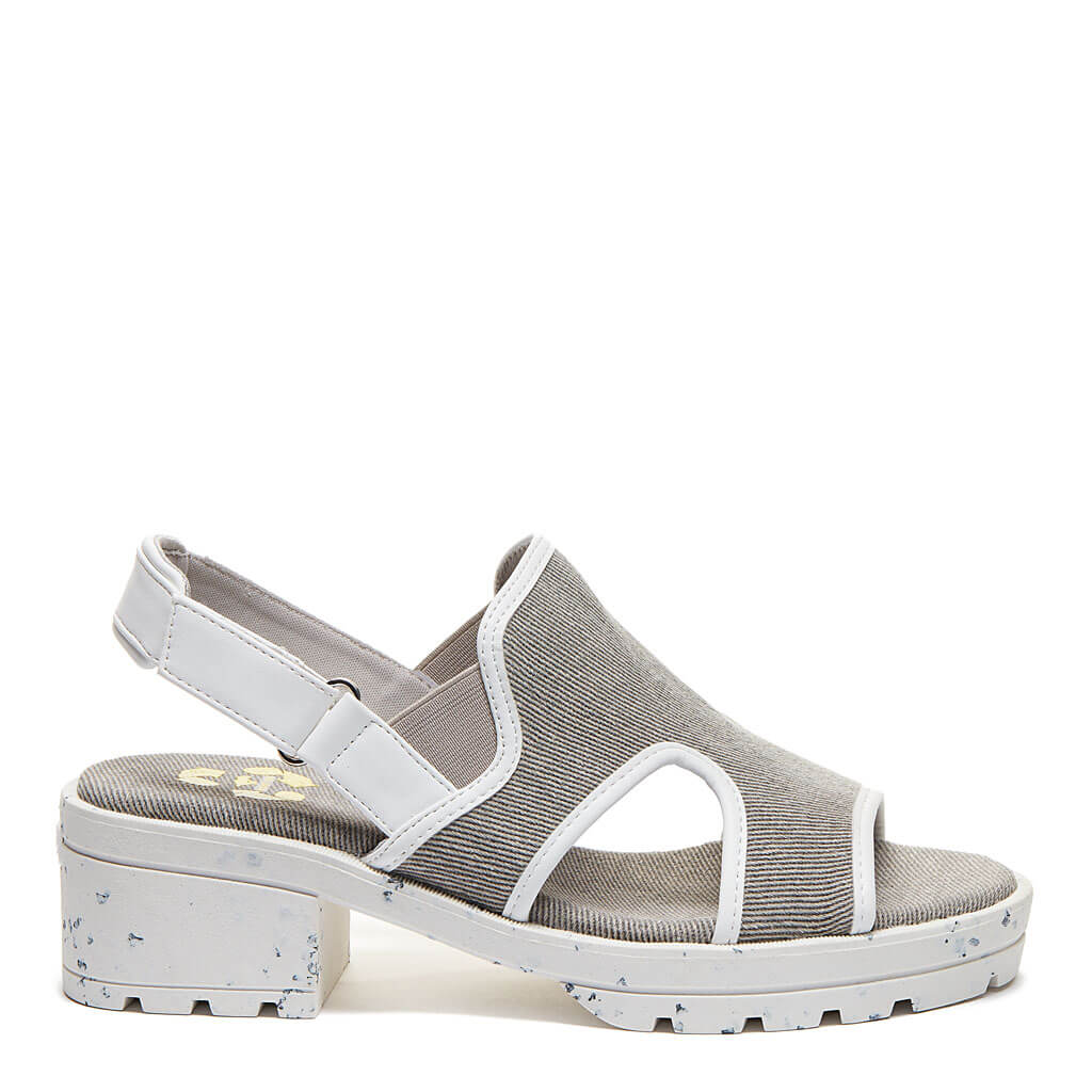 Lilly Grey Recycled Sandal