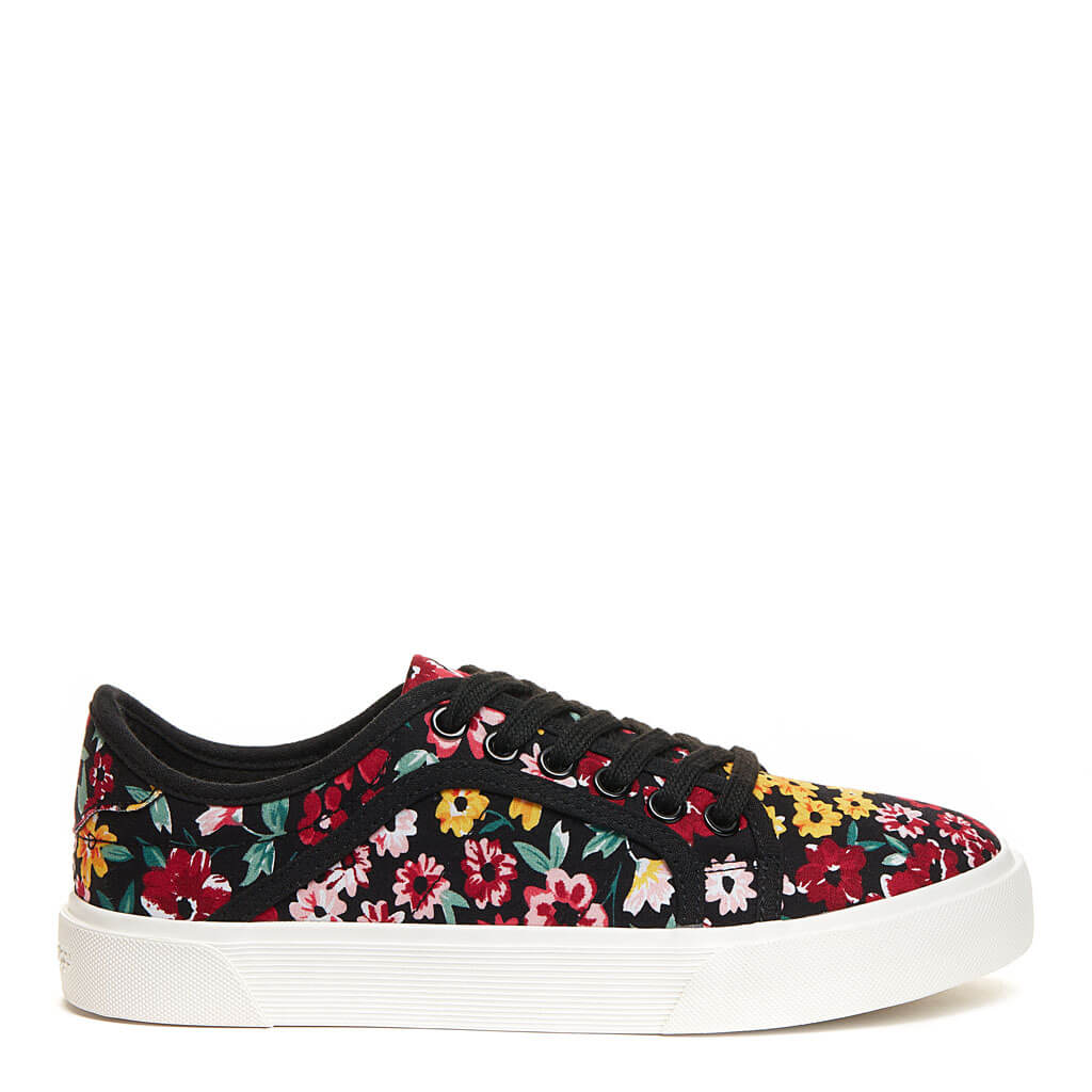 Rocket Dog Esme Floral Print Trainer