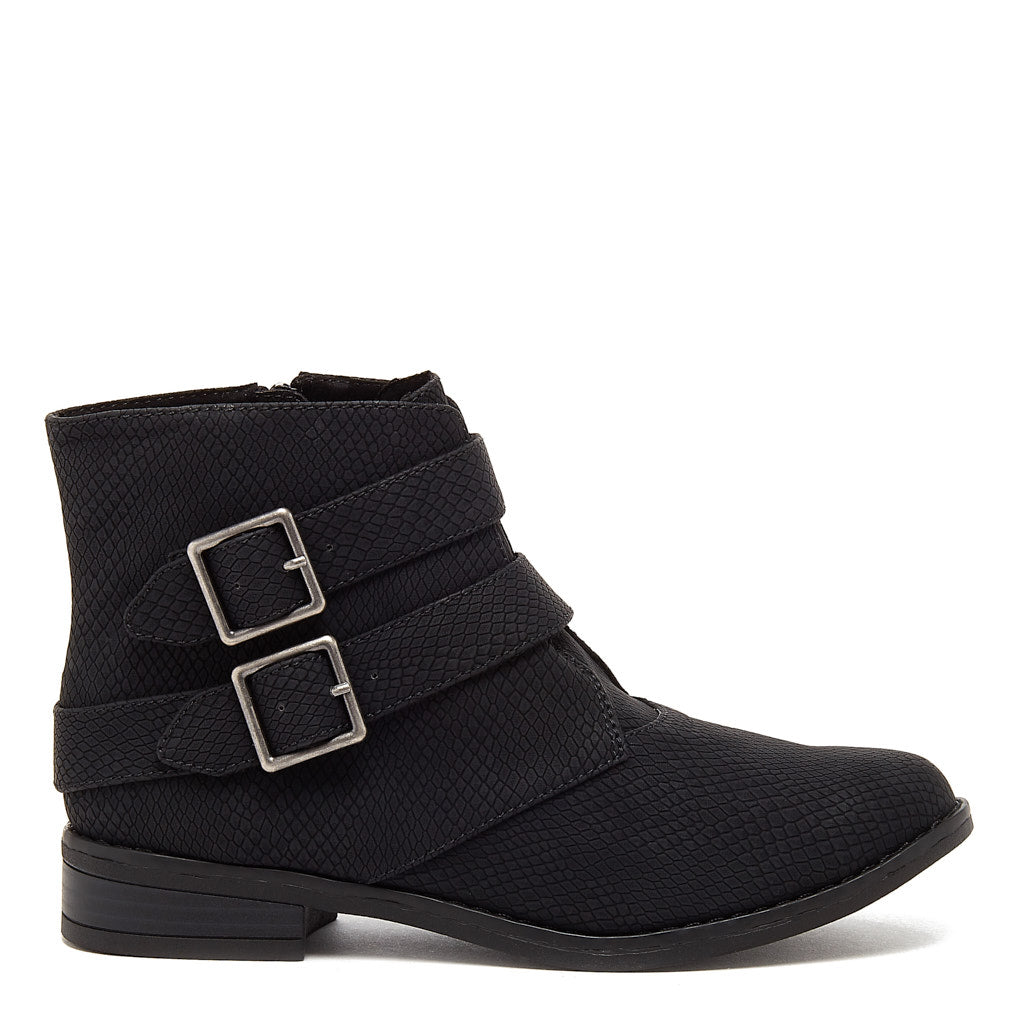 Margel Black Ankle Boot