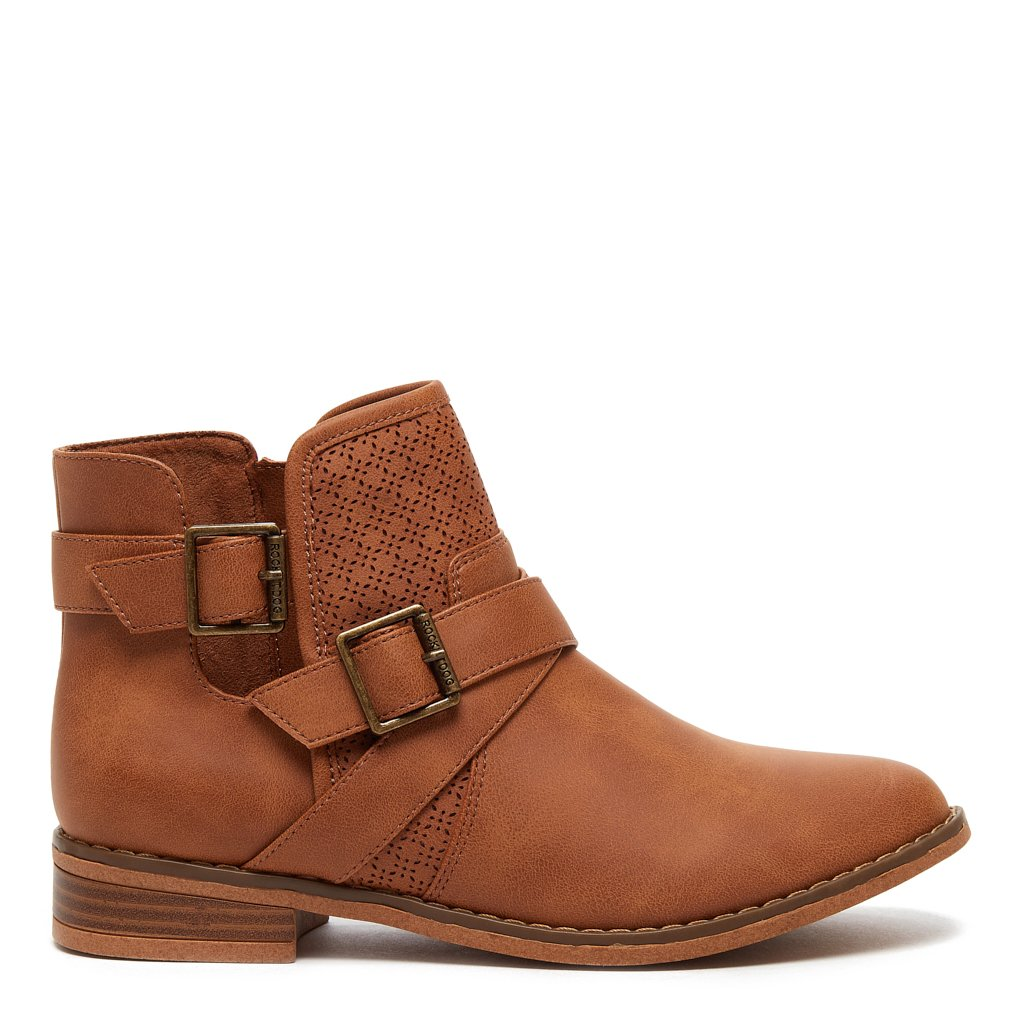 Marley Tan Bootie