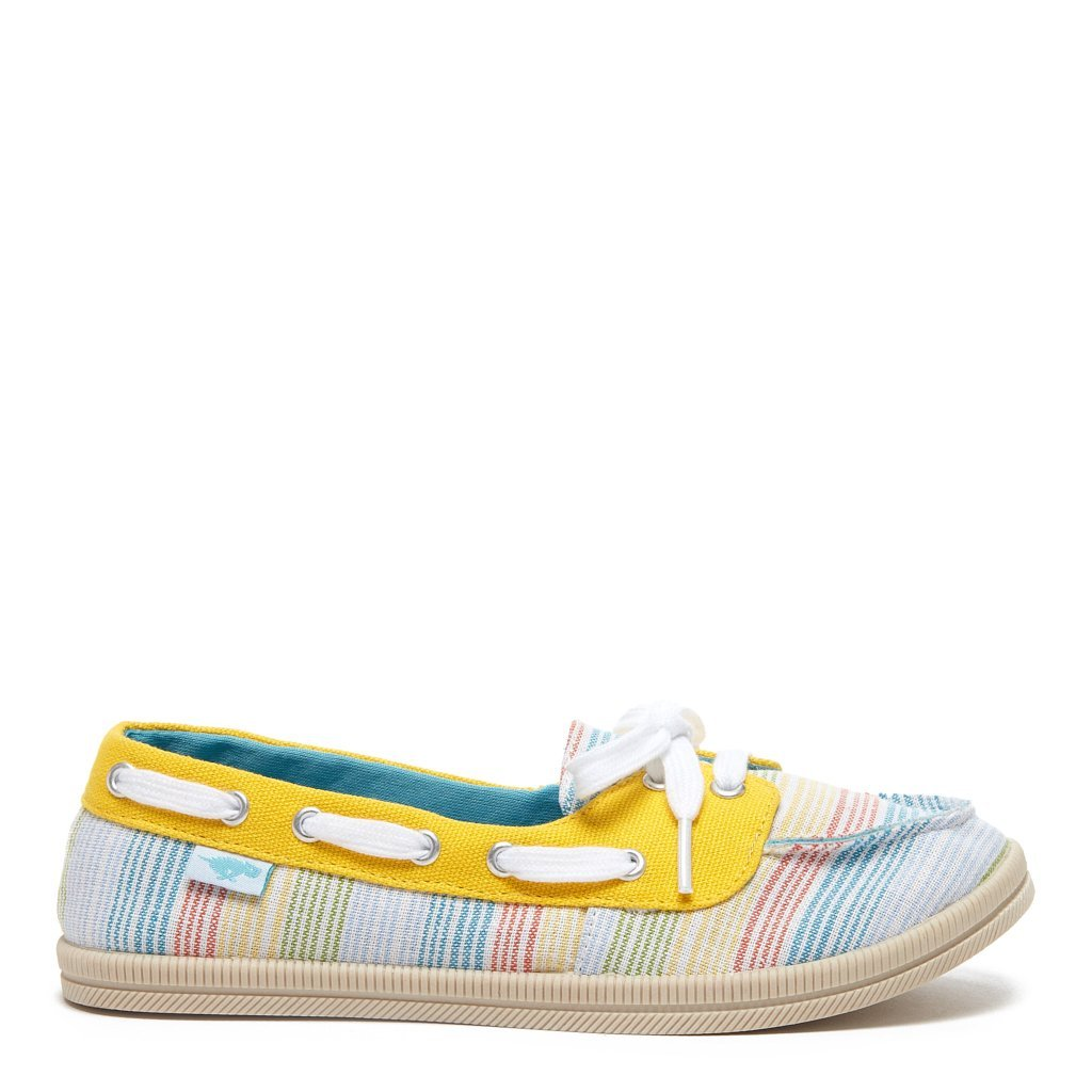 Meer Yellow Ravi Casual Boat Shoe