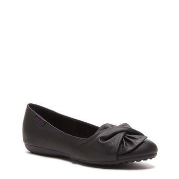 Risky Black Slip On Shoes