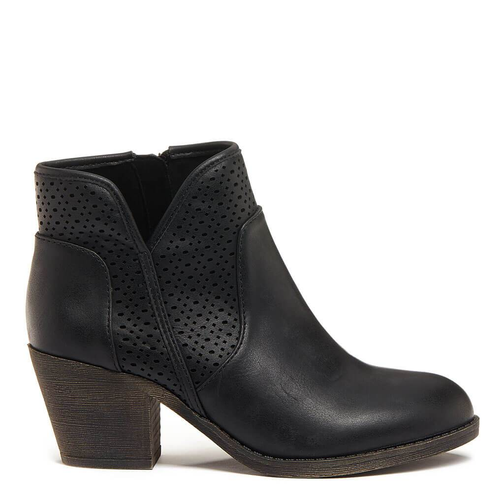 Savana Black Ankle Boot