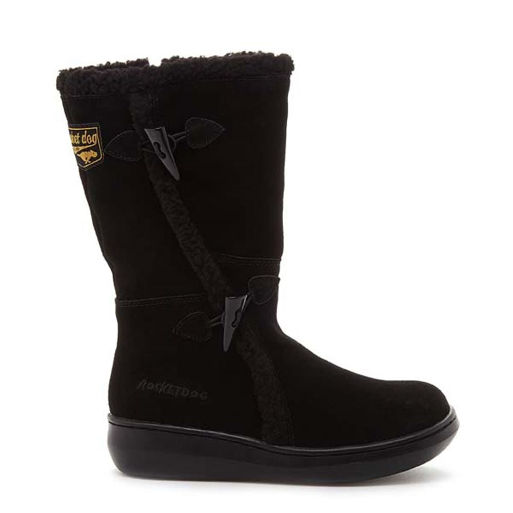 Slope Black Suede Winter Boot