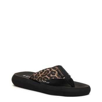 Rocket Dog Spotlight Dark Leopard Flip Flop